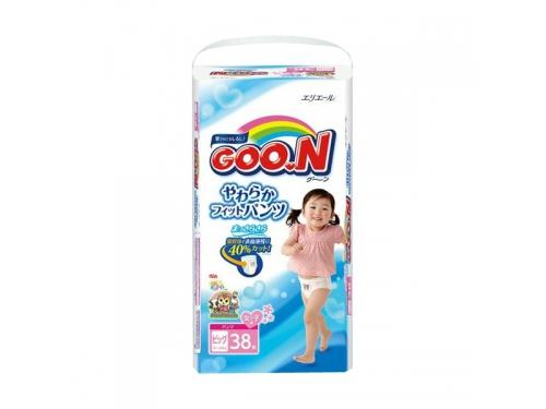 Подгузник Goon 12-20 кг (38 шт) BIG для девочек (трусики), вид 2
