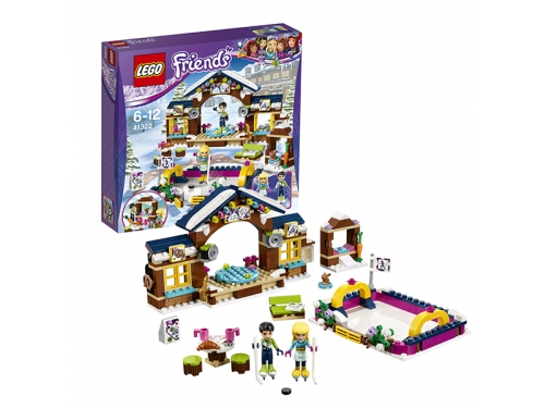 Конструктор LEGO Friends 41322 Каток на горнолыжном курорте, вид 2