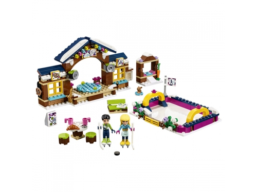 Конструктор LEGO Friends 41322 Каток на горнолыжном курорте, вид 4