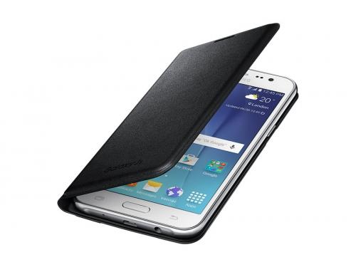 Чехол для смартфона Samsung для Samsung Galaxy J5 (2016) Flip Wallet черный, вид 1