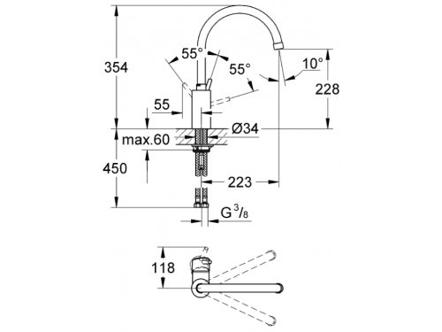 ��������� Grohe Concetto 32661, ����, ��� 2