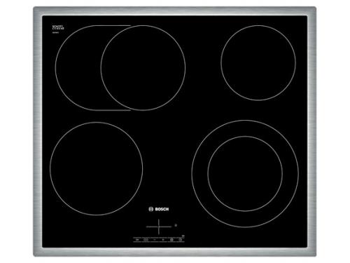 Варочная поверхность Bosch NKN645B17, черная, вид 1