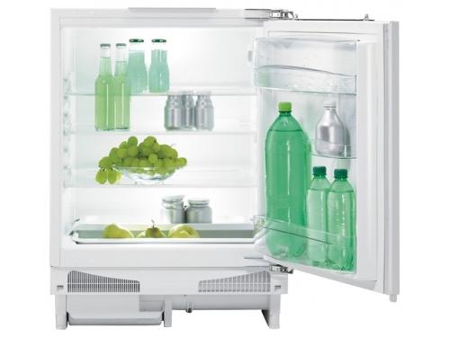 Холодильник встраиваемый Gorenje RIU 6091 AW, белый, вид 1