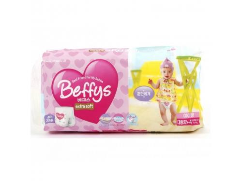 Подгузник Beffy's extra soft д/девочек L 10-14кг/36шт, вид 2