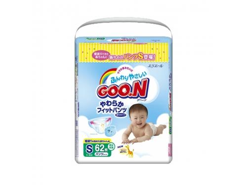 Подгузник Goon 5-9 кг (62шт) S, трусики, вид 2