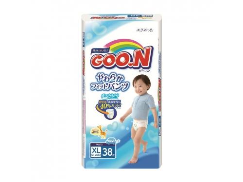 Подгузник Goon 12-20 кг (38 шт) BIG для мальчиков (трусики), вид 2