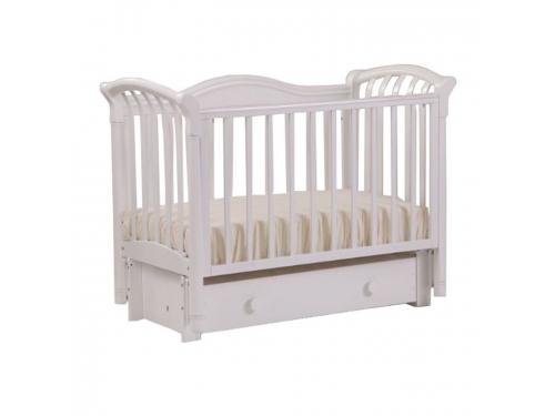 Детская кроватка Кубаньлесстрой Азалия БИ 10.3, белая, вид 5