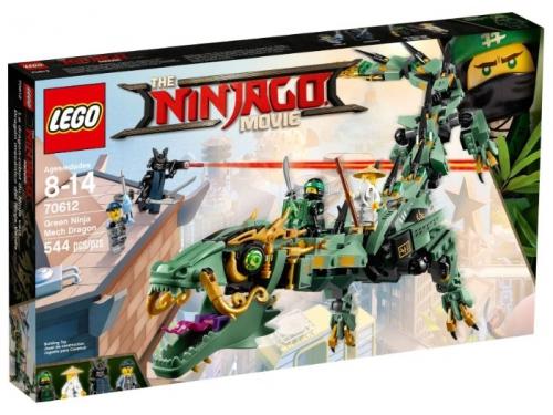 Конструктор LEGO Ninjago 70612 Механический Дракон Зелёного Ниндзя, вид 1