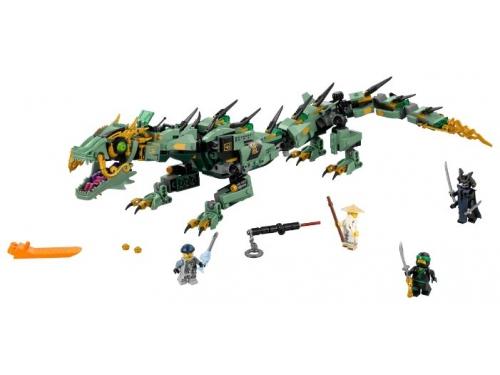 Конструктор LEGO Ninjago 70612 Механический Дракон Зелёного Ниндзя, вид 2