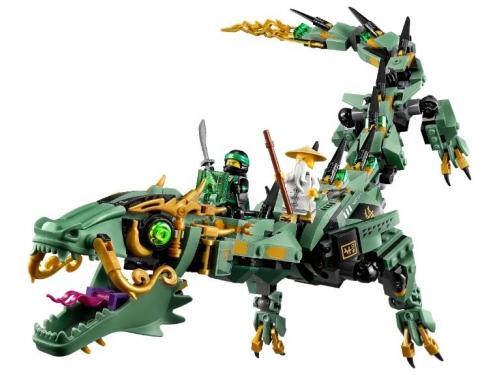 Конструктор LEGO Ninjago 70612 Механический Дракон Зелёного Ниндзя, вид 3