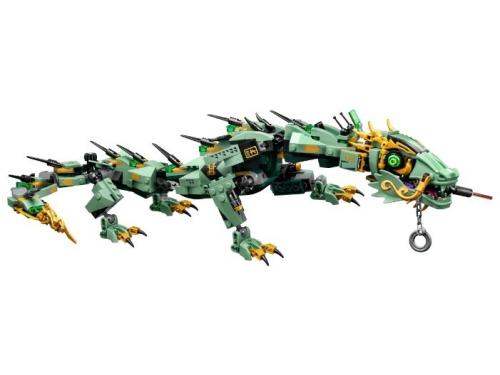 Конструктор LEGO Ninjago 70612 Механический Дракон Зелёного Ниндзя, вид 4