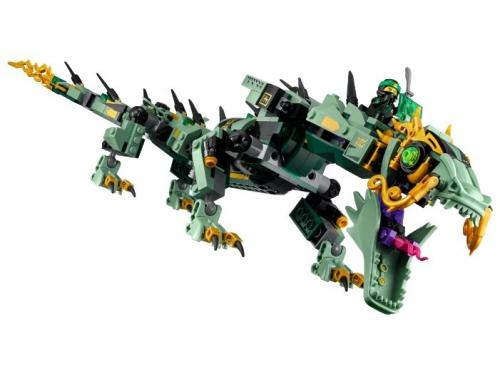 Конструктор LEGO Ninjago 70612 Механический Дракон Зелёного Ниндзя, вид 5