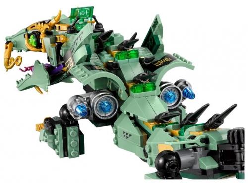 Конструктор LEGO Ninjago 70612 Механический Дракон Зелёного Ниндзя, вид 7
