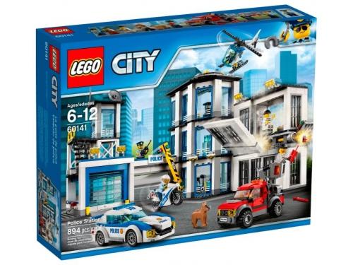 Конструктор Lego City 60141 (Полицейский участок), вид 1