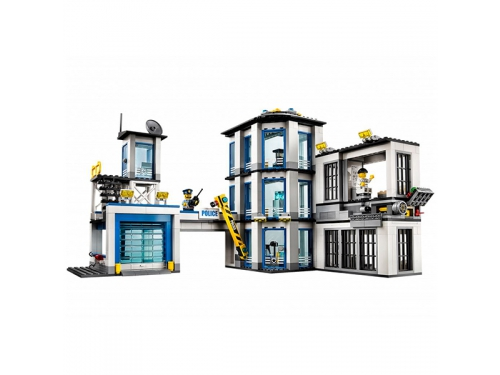 Конструктор Lego City 60141 (Полицейский участок), вид 5