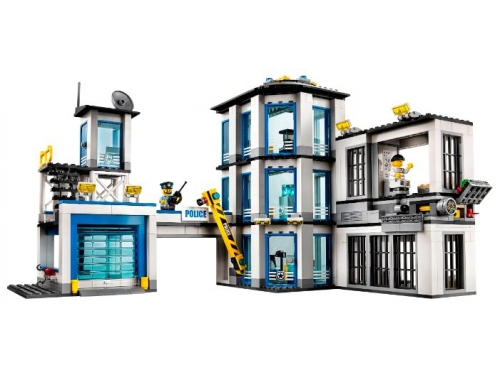 Конструктор Lego City 60141 (Полицейский участок), вид 8