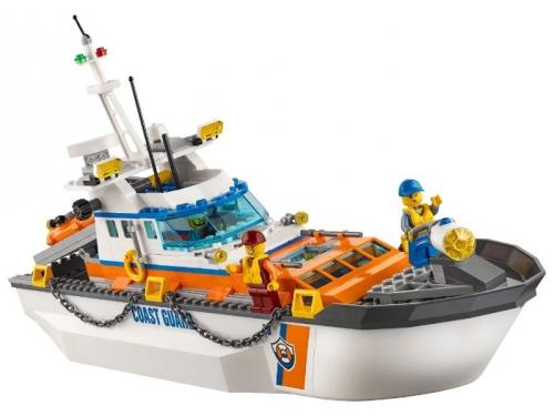 Конструктор LEGO City 60167 Штаб береговой охраны, вид 1