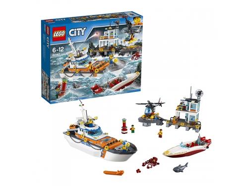 Конструктор LEGO City 60167 Штаб береговой охраны, вид 2