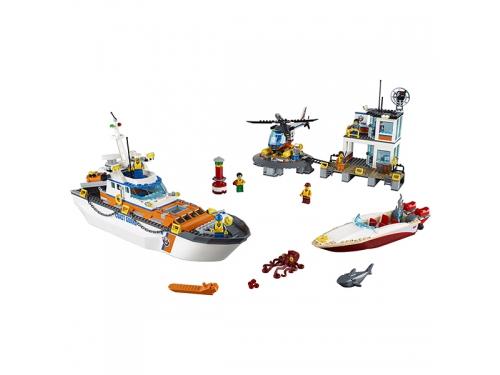 Конструктор LEGO City 60167 Штаб береговой охраны, вид 4