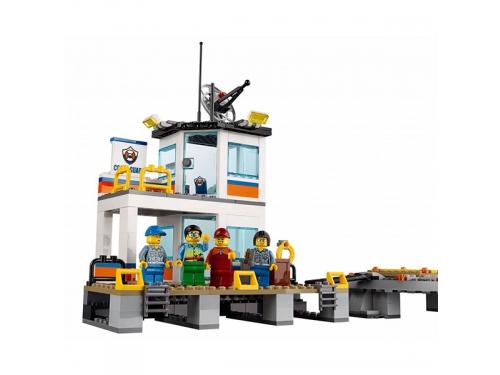 Конструктор LEGO City 60167 Штаб береговой охраны, вид 6