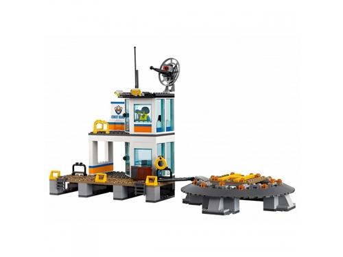 Конструктор LEGO City 60167 Штаб береговой охраны, вид 7