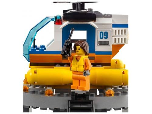 Конструктор LEGO City 60167 Штаб береговой охраны, вид 8