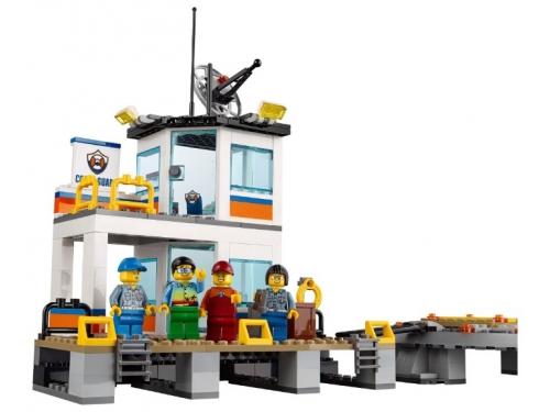 Конструктор LEGO City 60167 Штаб береговой охраны, вид 9