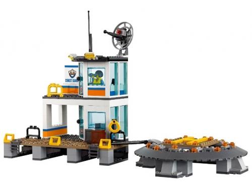 Конструктор LEGO City 60167 Штаб береговой охраны, вид 10
