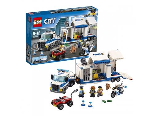 Конструктор LEGO City 60139 Мобильный командный центр, вид 2