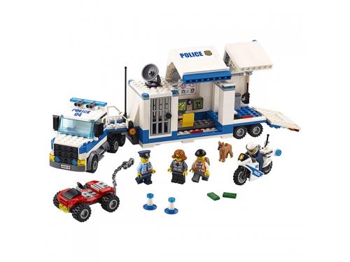 Конструктор LEGO City 60139 Мобильный командный центр, вид 4