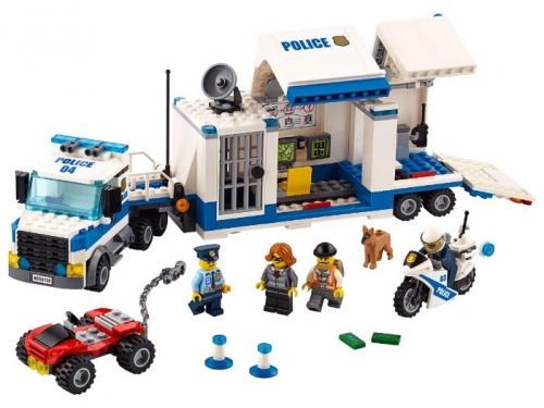 Конструктор LEGO City 60139 Мобильный командный центр, вид 3