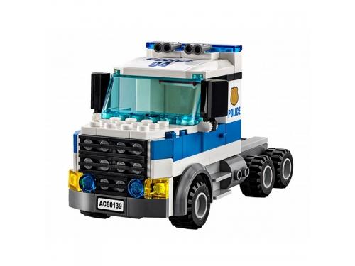 Конструктор LEGO City 60139 Мобильный командный центр, вид 6