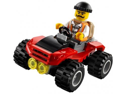 Конструктор LEGO City 60139 Мобильный командный центр, вид 10