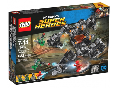 Конструктор LEGO DC Super Heroes 76086 Сражение в туннеле, вид 3