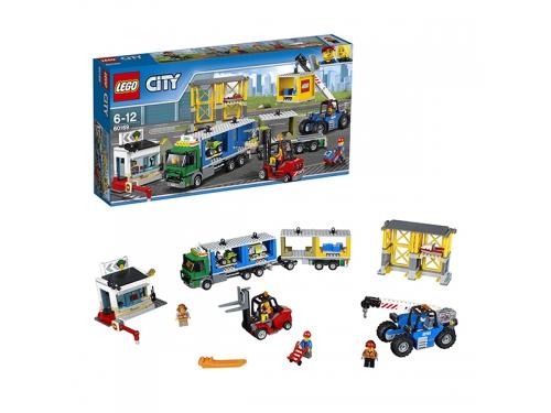 Конструктор LEGO City 60169 Грузовой терминал, вид 2