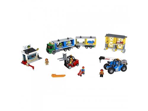 Конструктор LEGO City 60169 Грузовой терминал, вид 4