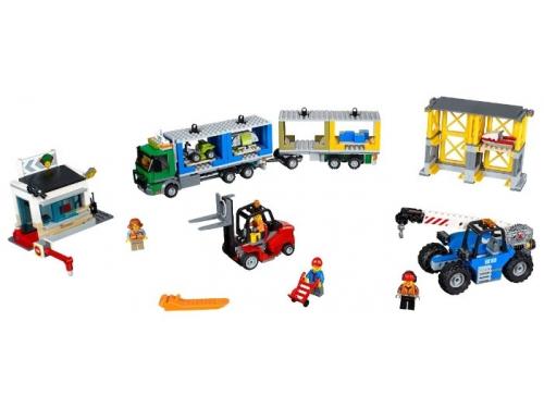 Конструктор LEGO City 60169 Грузовой терминал, вид 3