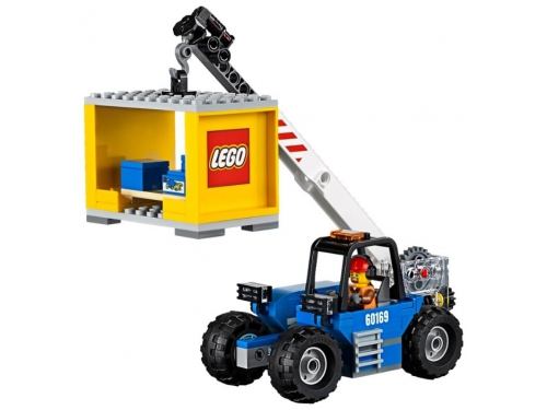 Конструктор LEGO City 60169 Грузовой терминал, вид 12