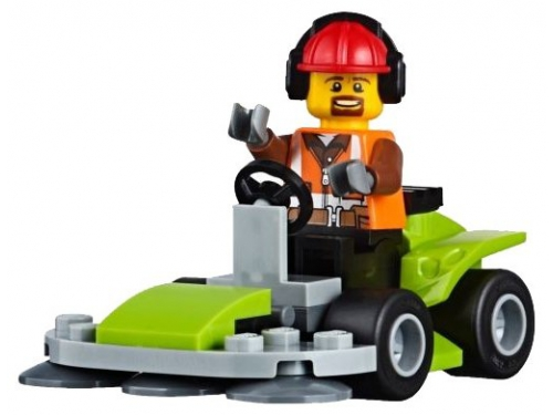 Конструктор LEGO City 60169 Грузовой терминал, вид 15