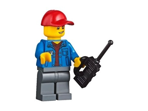 Конструктор LEGO City 60169 Грузовой терминал, вид 16