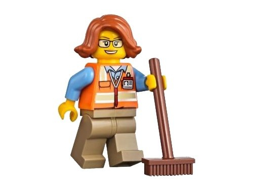 Конструктор LEGO City 60169 Грузовой терминал, вид 18