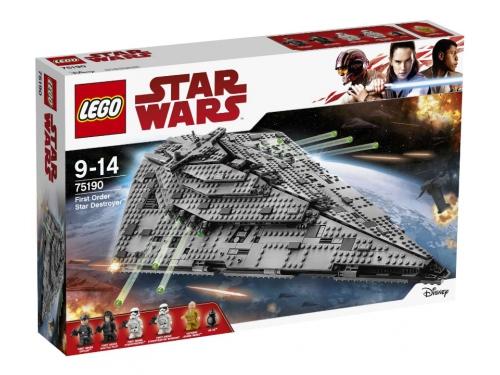 Конструктор LEGO Звёздные войны 75190 Звездный разрушитель Первого Ордена, вид 2