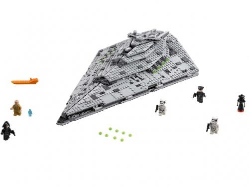Конструктор LEGO Звёздные войны 75190 Звездный разрушитель Первого Ордена, вид 4