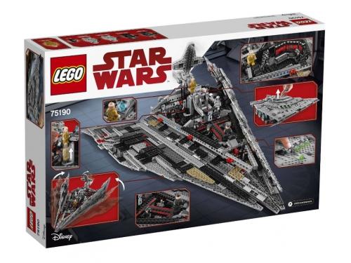 Конструктор LEGO Звёздные войны 75190 Звездный разрушитель Первого Ордена, вид 5