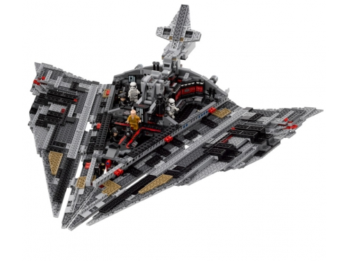 Конструктор LEGO Звёздные войны 75190 Звездный разрушитель Первого Ордена, вид 8