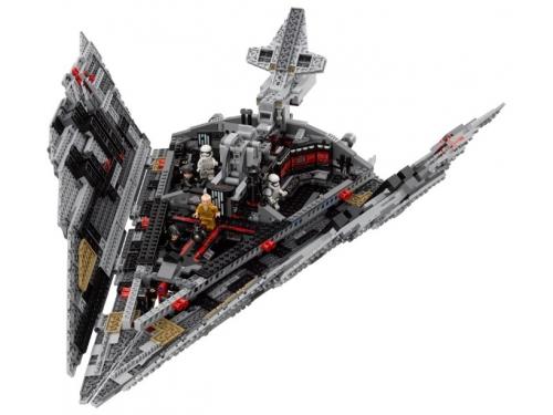 Конструктор LEGO Звёздные войны 75190 Звездный разрушитель Первого Ордена, вид 9