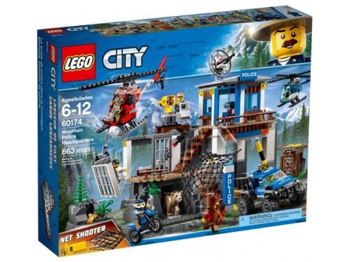 Конструктор LEGO CITY  60174 Полицейский участок в горах (663 детали), вид 1