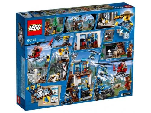 Конструктор LEGO CITY  60174 Полицейский участок в горах (663 детали), вид 2