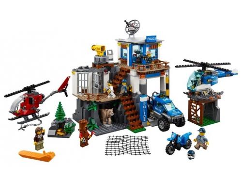 Конструктор LEGO CITY  60174 Полицейский участок в горах (663 детали), вид 3