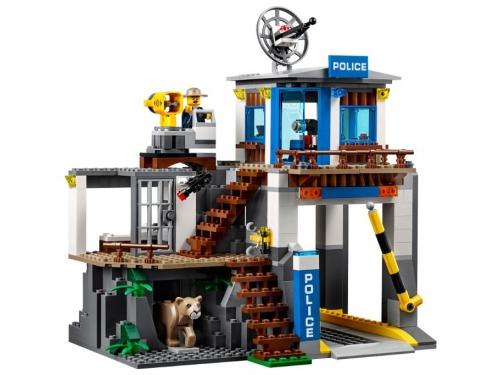 Конструктор LEGO CITY  60174 Полицейский участок в горах (663 детали), вид 4